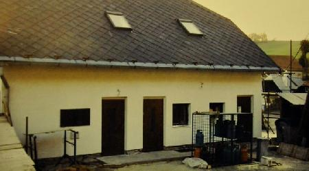 Rok 2005 - Stavební úpravy obchodu na návsi