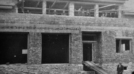 Historické fotky - Stavba kulturního domu