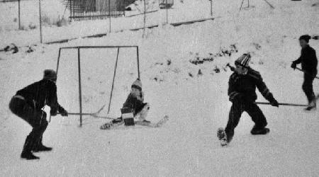 Historické fotky - sport - hokej