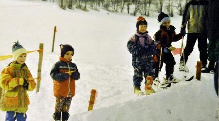 Historické fotky - sport - Lyžařské závody